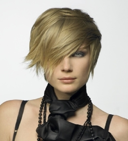 Short Layered Hairstyles For Long Faces