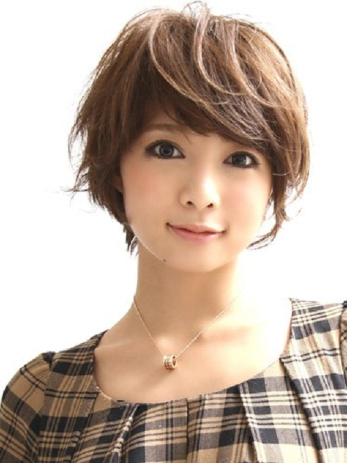 Short Layered Hairstyles for Asian Women