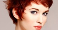 2013 Funky Short Red Hairstyles