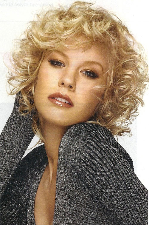 Trendy Short Curly Haircuts for Beautiful Women