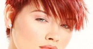 Cute Short Red Hairstyles 2013