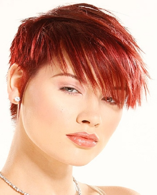 Cute Short Red Hairstyles for Women