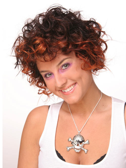 Trendy Short Curly Haircuts for Women