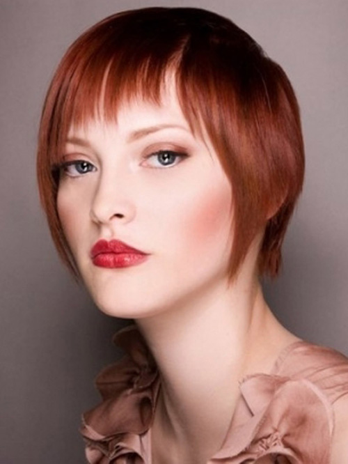 Cute Short Red Hairstyles for Women New-Short-Natural-Red-Hairstyles