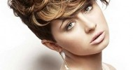 Short Curly Blonde Haircuts 2013