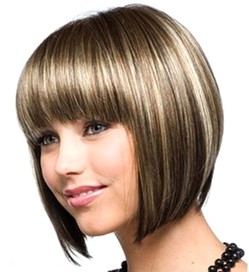 New Short Haircuts For Girls With Round Faces