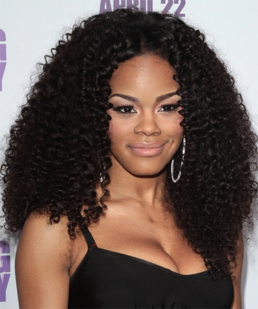 Long Hairstyles for Round Faces Black Women