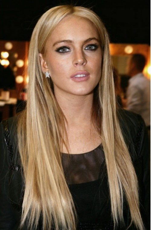 Long Straight Hairstyles For Round Faces 2013