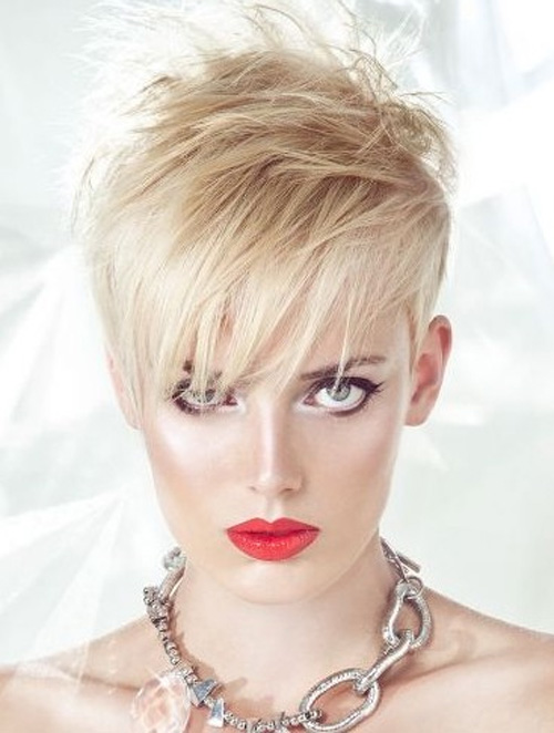 2013 Short Shaggy Pixie Haircuts