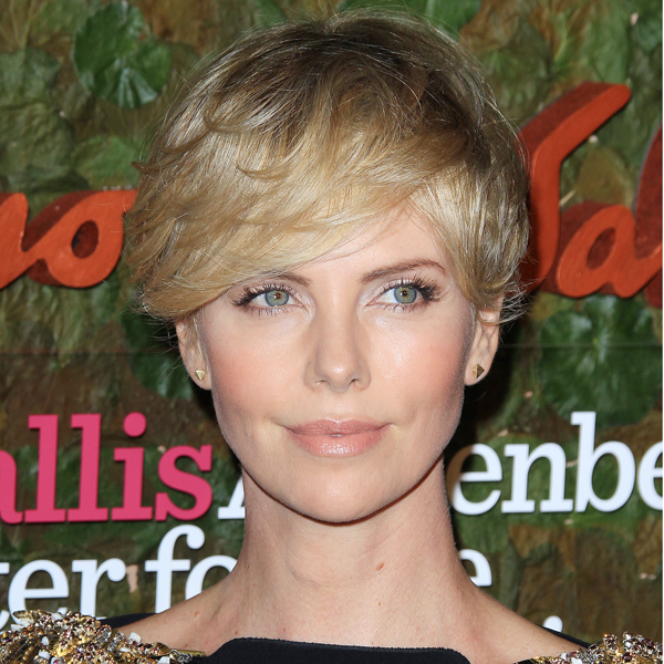 Best Short Blonde Hairstyles for Women Charlize-Theron-cropped-blonde-Short-Hairstyles