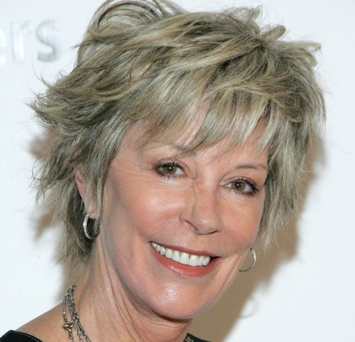 Cool Short Shaggy Haircuts For Older Women