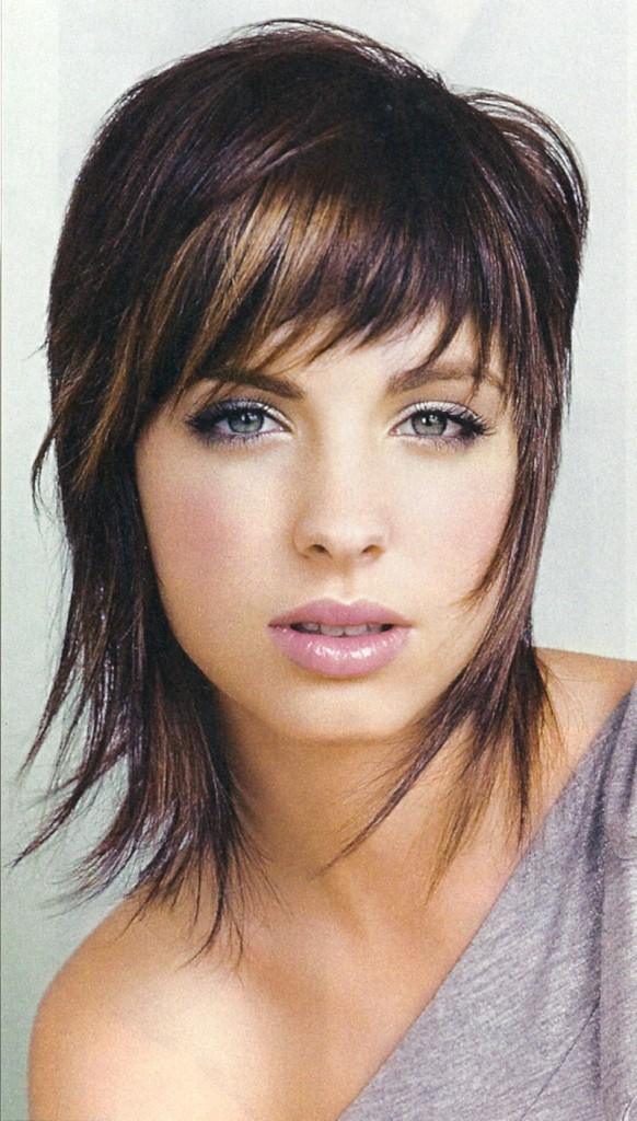 Medium Length Shag Hairstyles 2014 Cute-Wispy-Medium-Length-Shag-Hairstyles-582x1024