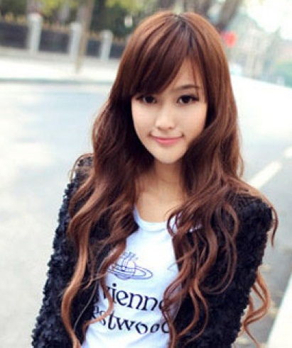Long Asian Hairstyles for Women 2013