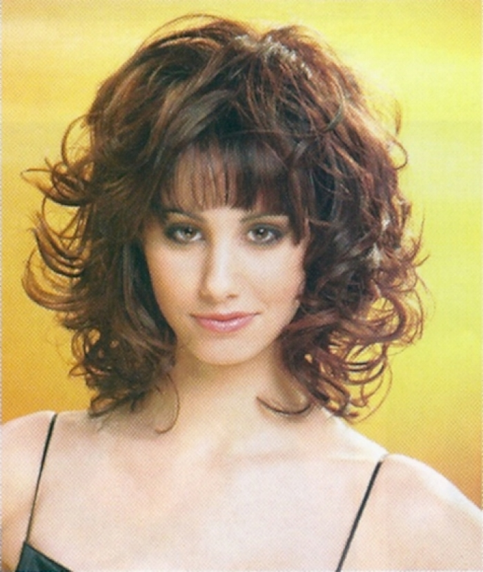 Medium Length Wavy Hairstyles 2015 Medium-Length-Wavy-Hairstyles-with-Bangs