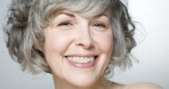 Short Hairstyles for Older Women with Grey Hair