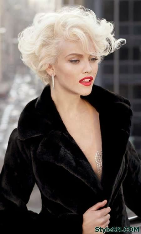 Root perm hairstyles for women 1
