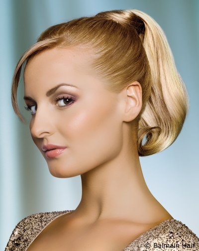 Elegant Ponytails for Short Hair
