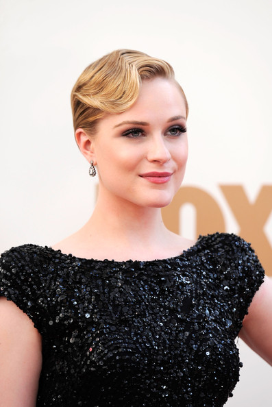 Evan Rachel Wood Finger Wave For Short Hair