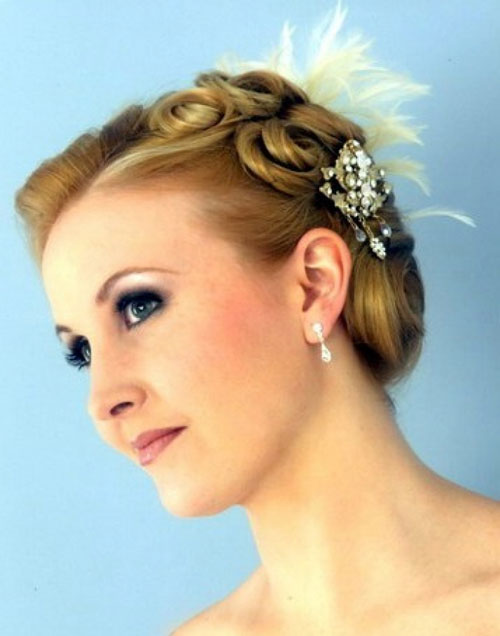 New Short Hairstyles for Bridesmaid New-Cute-Short-Bridesmaid-Hairstyles