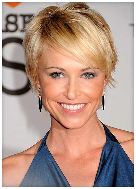 Short Classy Hairstyles for Older Women