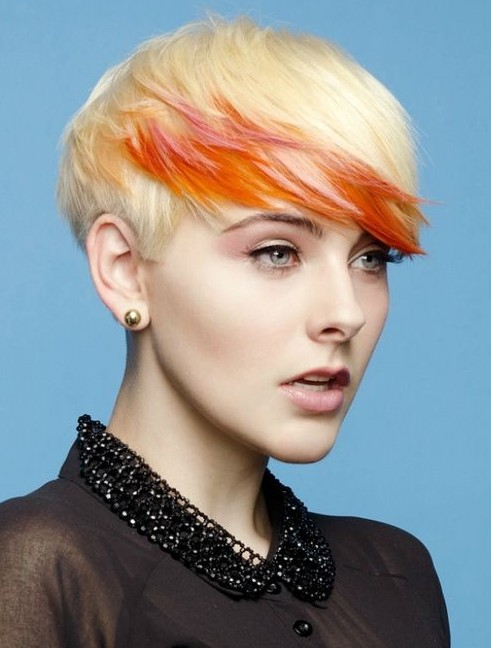 Trendy Hair Color for Women with Short Hair