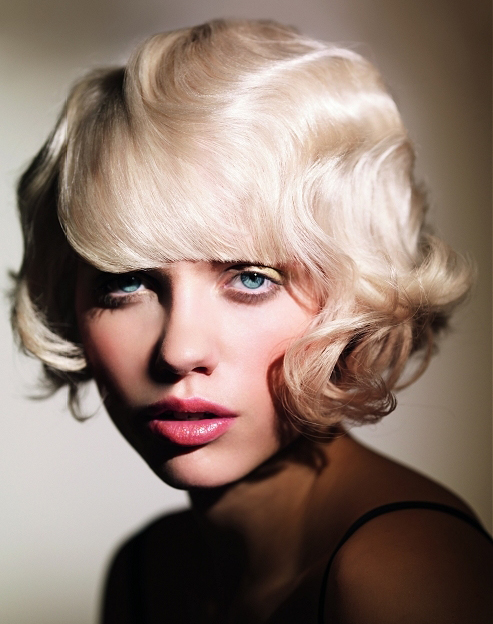 Vintage Hairstyles for Short Hair With Bangs