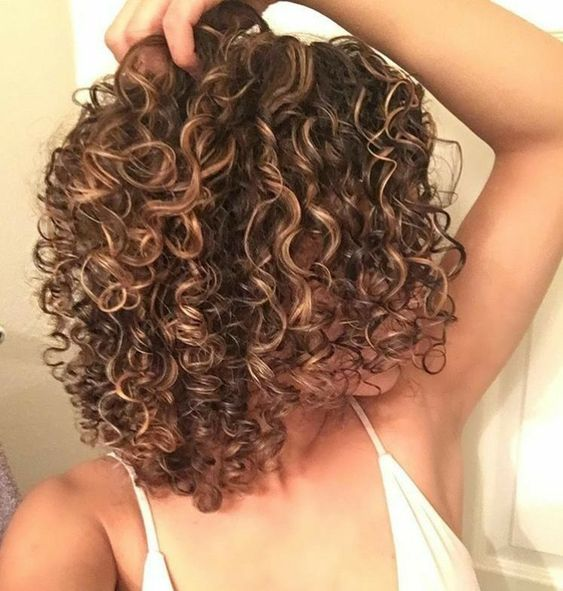 Spiral perm hairstyles for women 6