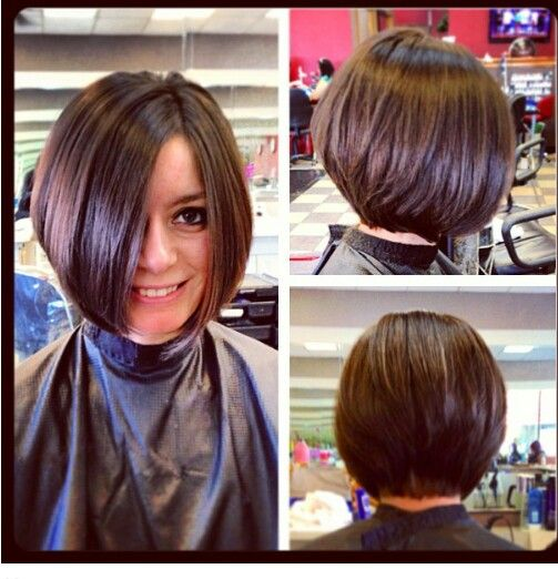 36 Beautiful Types of Short Stacked Bob Hairstyles (Updated 2018) dffd232ae67e24860050c761d1d27c49