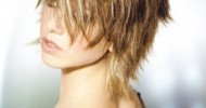2015 Short Shaggy Hairstyles For Fine Hair