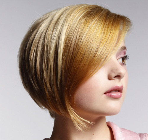 Cute Short Layered Straight Haircuts