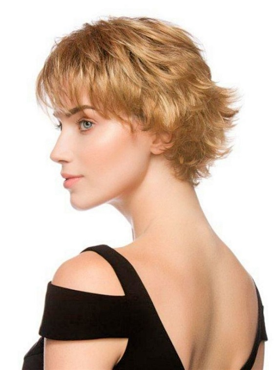 Cute Short Shaggy Hairstyles for Fine Hair 2015