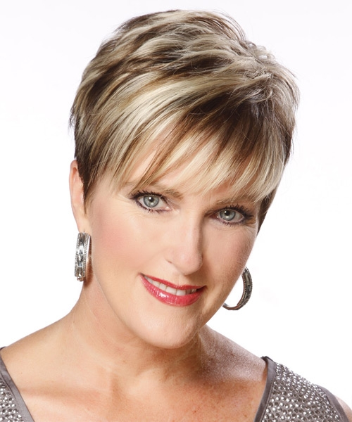 Hairstyles For Short Fine Hair For Older Women