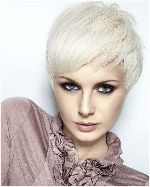 Layered Razor Pixie Hairstyles for Short Hair