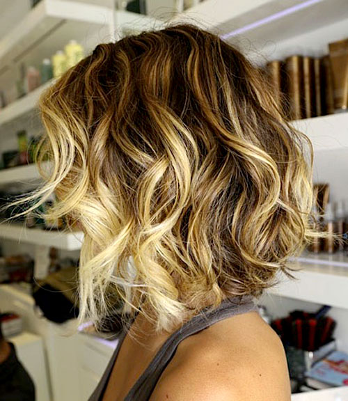 New Ombre Hair Color for Short Hair
