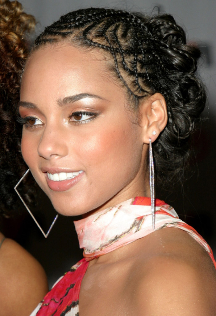 Simple Braided Hairstyles for Beautiful Women simple-braided-hairstyles-for-african-americans