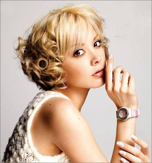 Asian Short Hairstyles 2015 for Women Asian-Short-Curly-Hairstyles-for-Women