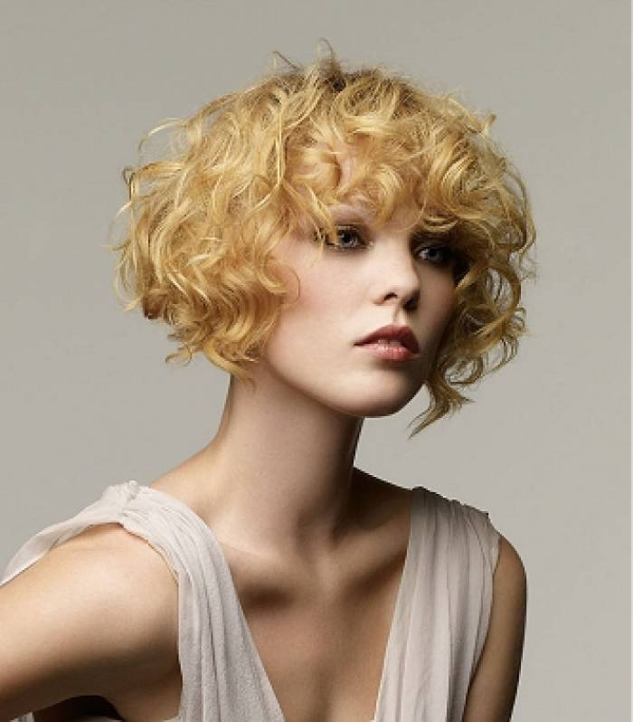 Layered Hairstyles For Short Curly Hair