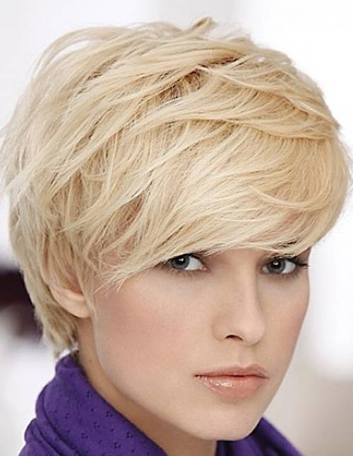 Layered Pixie Hairstyles for Short Hair