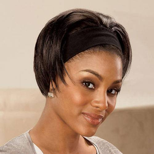 Short Stright Hairstyles for Black Women 2014