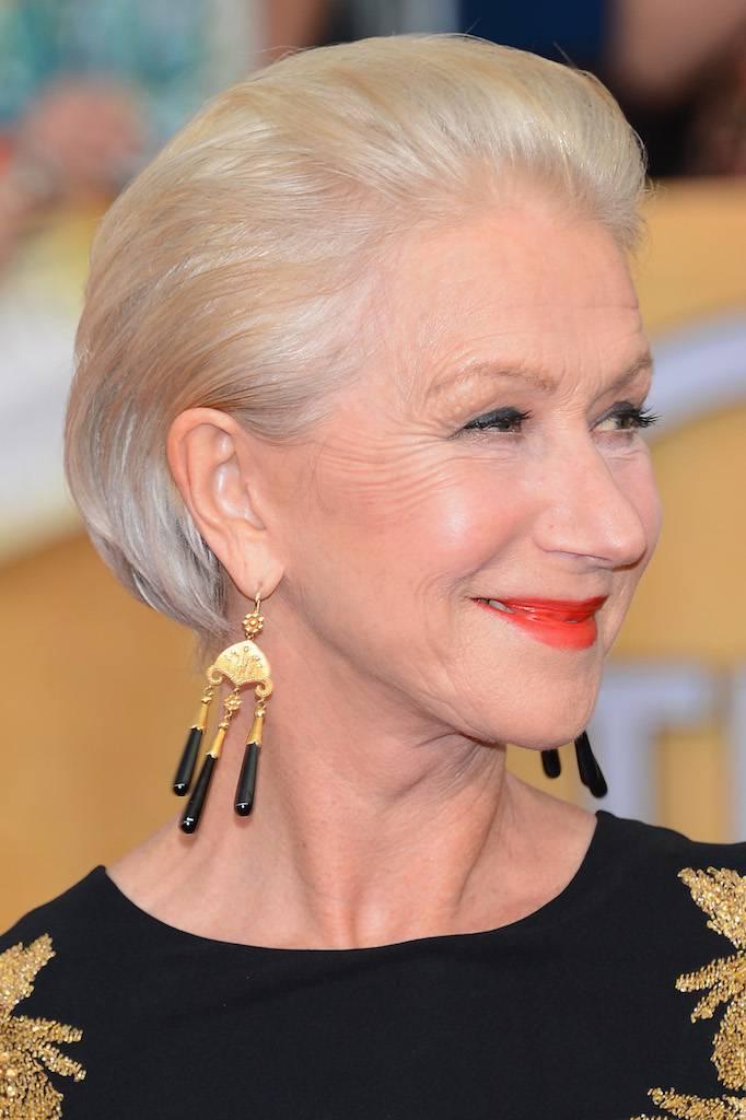 2014 Short Hairstyles for Older Women