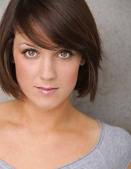 2014 Short Hairstyles for Brown Hair