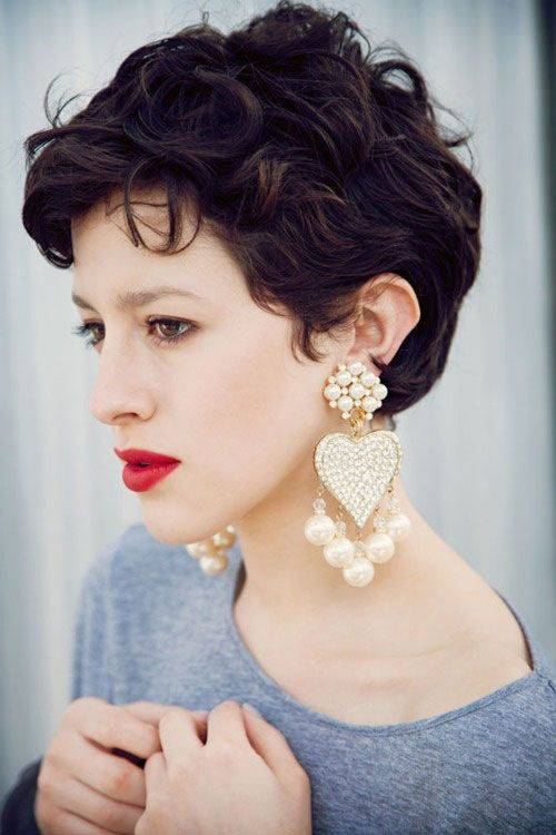 2014 Short Pixie Hairstyles For Thick Hair