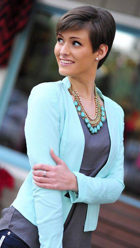 2014 Stylish Short Pixie Hairstyles for Women