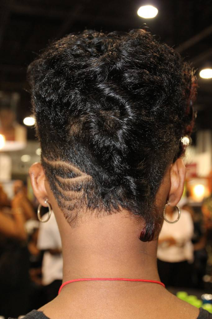 2014 african american short hairstyles back view