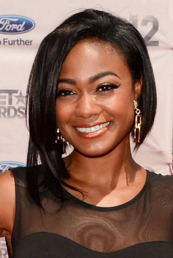 2014 short hairstyles for round faces black women