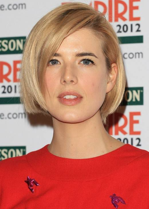 Best Short Hairstyles for Round Faces 2014
