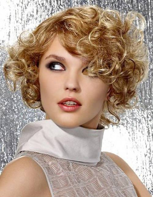 Cute Curly Short Hairstyles 2014