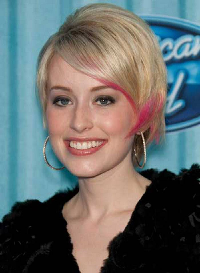 Cute Short Hairstyles for Round Faces 2014