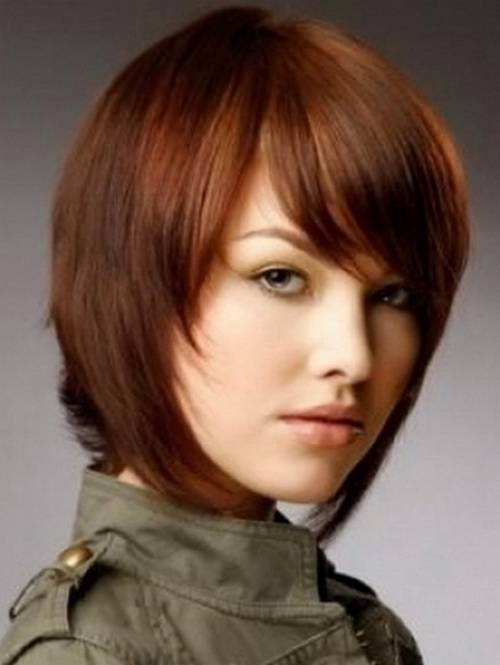 Light Brown Hairstyles for Short Hair