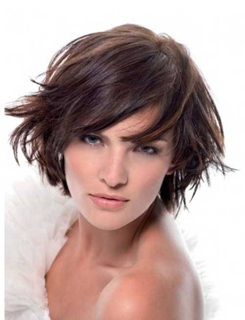 Modern Short Layered Bob Hairstyles 2014